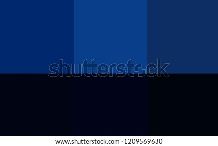 Dark BLUE vector template with rainbow of colours. Color palette with set of colors. Pattern of colors for designers of booklets, leaflets.