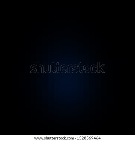 Dark BLUE vector template with rectangles. Rectangles with colorful gradient on abstract background. Pattern for commercials, ads.