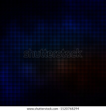 Dark Blue, Yellow vector background with rectangles. Rectangles with colorful gradient on abstract background. Pattern for commercials, ads.
