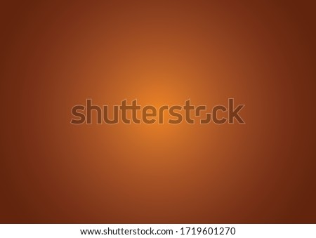Dark Brown vector colorful blur backdrop. Colorful illustration in halftone style with gradient. Smart design for your apps. Foto stock ©