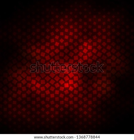 Dark Brown vector template with rectangles. Rectangles with colorful gradient on abstract background. Pattern for websites, landing pages.