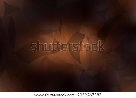 dark brown vector triangle
