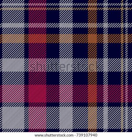 dark checkered print seamless