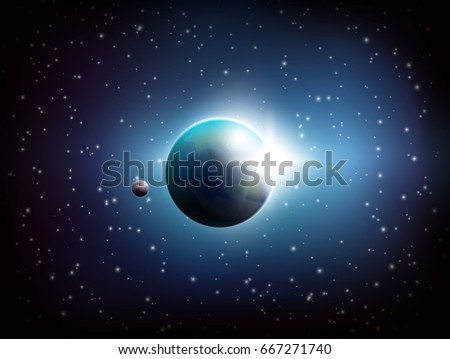 dark colored space background
