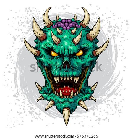 dark daemon color edition white