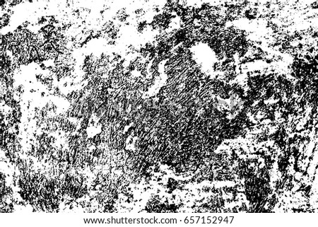 Dark Distressed Concrete Wall Rustic Stone Vector Texture Black Stains And Noise For