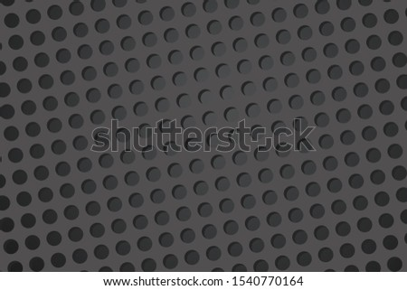 Dark dot wallpaper. 3D background is smooth. Clean and smooth.