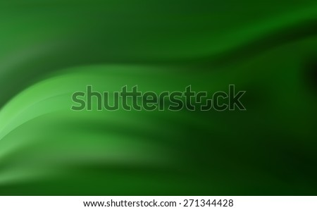 Dark Emerald Green Precious Background With Soft Delicate Folds Beautiful Abstract Golden