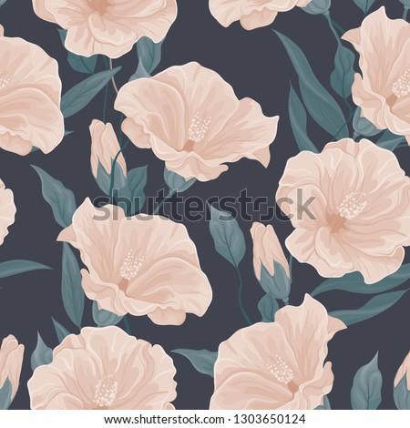 dark floral pattern large