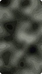 Dark gray abstract paint dotted grunge background. Modern screen vector design for mobile app