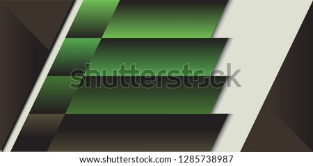 dark green  black brown vector