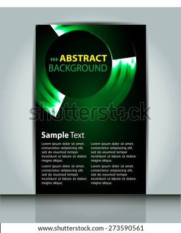stock-vector-dark-green-color-light-abstract-technology-background-computer-graphic-website-internet-and