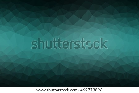 dark green polygon abstract