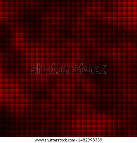 Dark Green, Red vector layout with lines, rectangles. Rectangles with colorful gradient on abstract background. Pattern for commercials, ads.