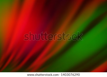 Dark Green, Red vector modern elegant layout. An elegant bright illustration with gradient. Background for designs.