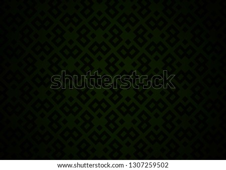 Dark Green vector background with rectangles. Rectangles on abstract background with colorful gradient. Best design for your ad, poster, banner.