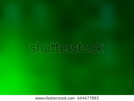 dark green vector blurred and