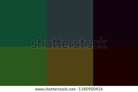 Dark Green vector cover with colorful palette. Colorful gradient set with collection of rainbow colors. Pattern of colors for design of ads, posters, banners.