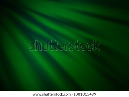 Dark Green vector modern elegant background. An elegant bright illustration with gradient. The template for backgrounds of cell phones.
