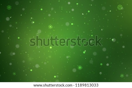 stock-vector-dark-green-vector-template-with-ice-snowflakes-modern-geometrical-abstract-illustration-with