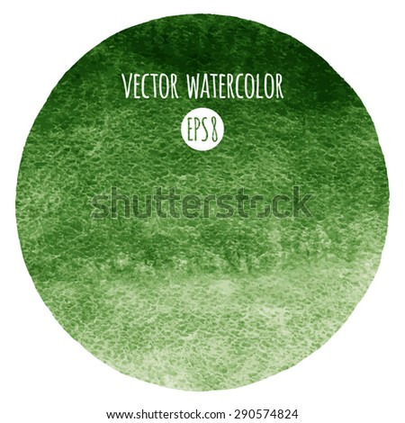 dark green watercolor vector