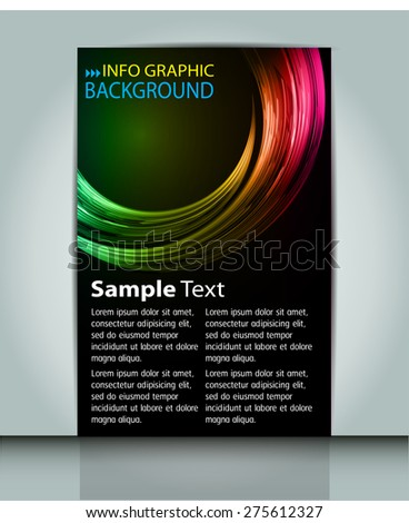 stock-vector-dark-green-yellow-pink-color-light-abstract-technology-background-computer-graphic-website-internet