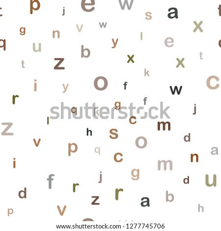 stock-vector-dark-green-yellow-vector-seamless-background-with-signs-of-alphabet-shining-colorful-illustration