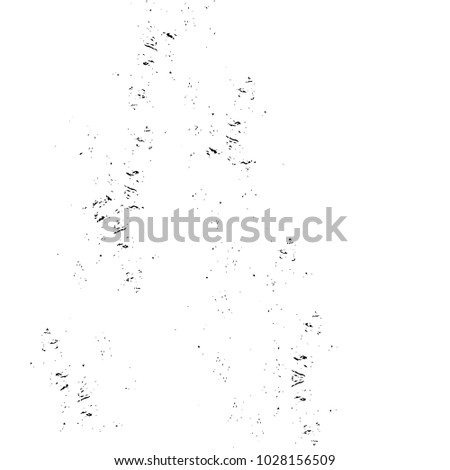 Dark Grunge Chaotic Seamless Pattern. Fantasy Abstract Texture Made Of Ink Paint. Monochrome Worn, Scuffed Background. Textile And Fabric Sample Design. Urban Modern Wallpaper. Spotted Backdrop Image #1028156509