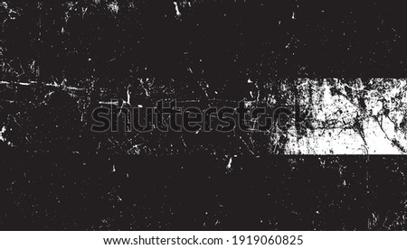 Dark grunge urban texture vector. Distressed overlay texture. Grunge background. Abstract obvious dark worn textured effect. Vector Illustration. Black isolated on white. EPS10.