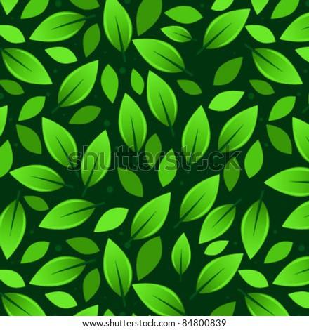 Dark Leaf Pattern