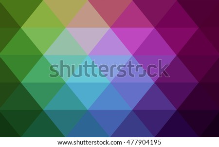 dark multicolor pattern