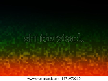 Dark Multicolor, Rainbow vector layout with lines, rectangles. Rectangles on abstract background with colorful gradient. Modern template for your landing page.