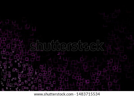 Dark Multicolor, Rainbow vector template with crystals, rectangles. Rectangles on abstract background with colorful gradient. Pattern for commercials.