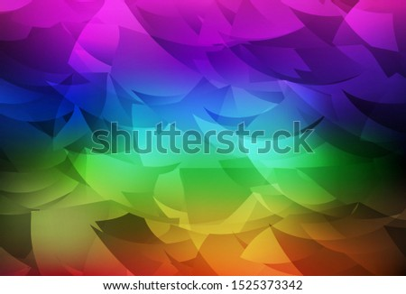Dark Multicolor vector abstract polygonal background. A sample with polygonal shapes. Polygonal design for your web site.