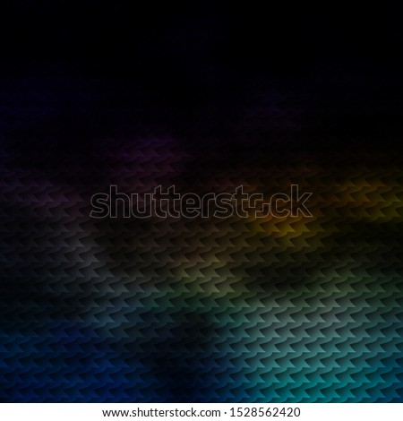 Dark Multicolor vector backdrop with rectangles. New abstract illustration with rectangular shapes. Pattern for commercials, ads.