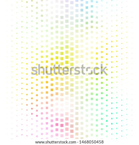 Dark Multicolor vector background with rectangles. Rectangles with colorful gradient on abstract background. Pattern for commercials, ads.