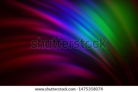 Dark Multicolor vector modern elegant background. An elegant bright illustration with gradient. New design for your business.