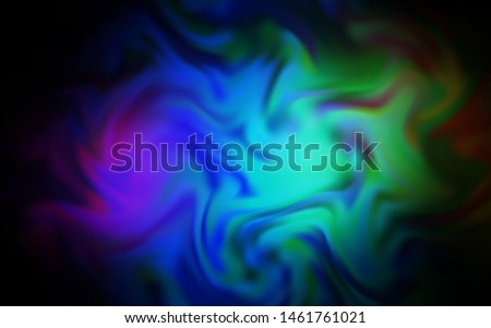 Dark Multicolor vector modern elegant layout. An elegant bright illustration with gradient. Background for a cell phone.