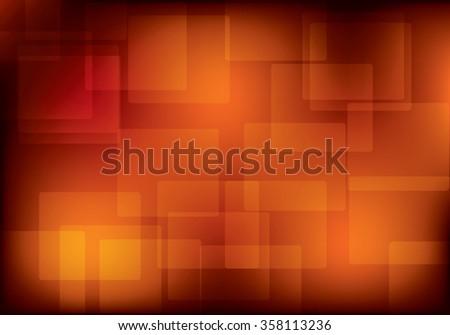dark orange background with