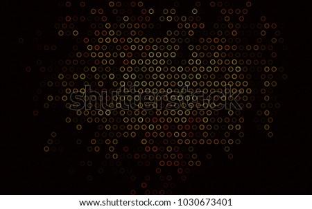 dark orange vector  background