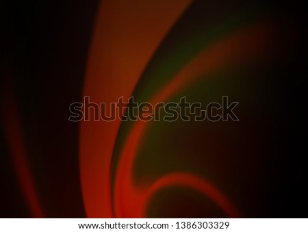 Dark Orange vector blurred and colored template. Glitter abstract illustration with an elegant design. The elegant pattern for brand book.