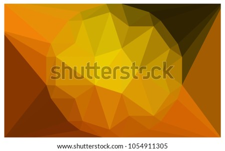 dark orange vector diamond