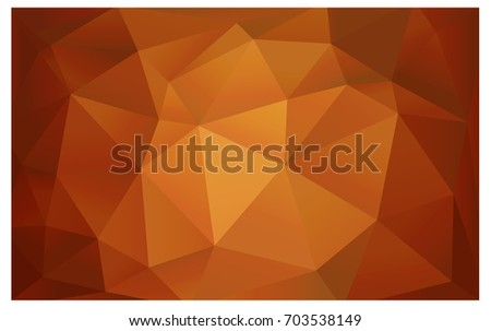 dark orange vector modern