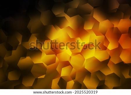 dark orange vector shining