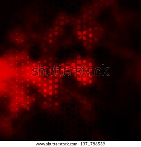 Dark Orange vector template with rectangles. Rectangles with colorful gradient on abstract background. Pattern for websites, landing pages.