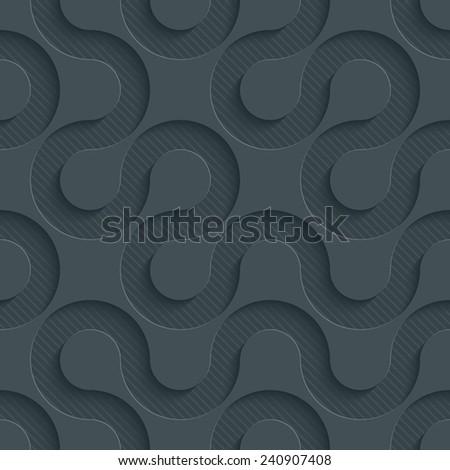 Dark Perforated Paper
