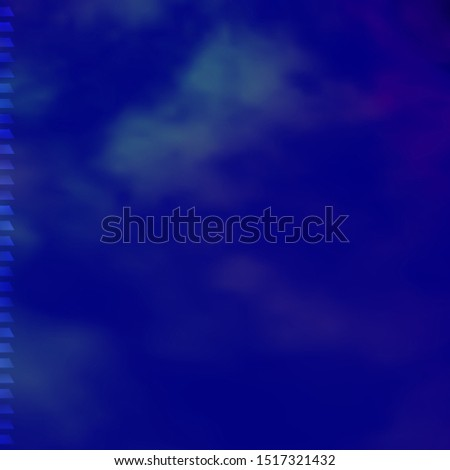 Dark Pink, Blue vector background in polygonal style. Abstract gradient illustration with rectangles. Pattern for commercials, ads.