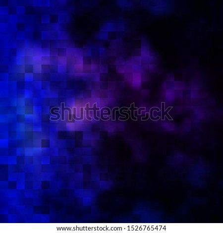 Dark Pink, Blue vector background with rectangles. Colorful illustration with gradient rectangles and squares. Pattern for commercials, ads.