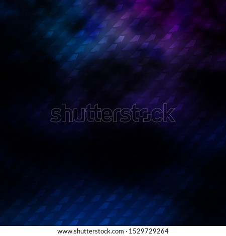 Dark Pink, Blue vector texture in rectangular style. Colorful illustration with gradient rectangles and squares. Pattern for commercials, ads.