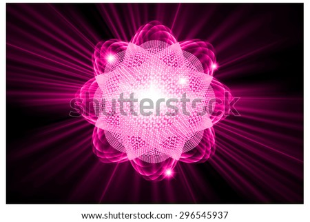 dark pink color light abstract